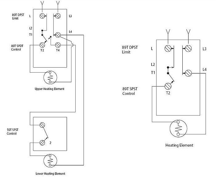 89t大电流温度开关 - 热水器温度控制器